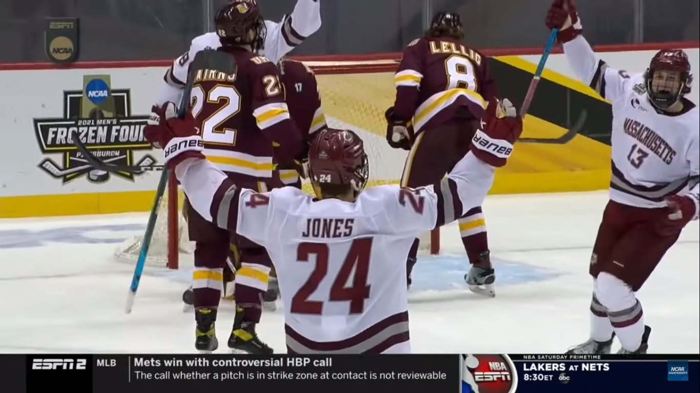 Forced to start in the Frozen Four, Matt Murray cemented his legacy at UMass