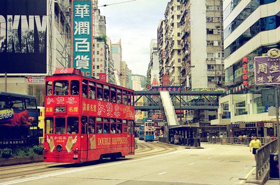 1997攝於香港。