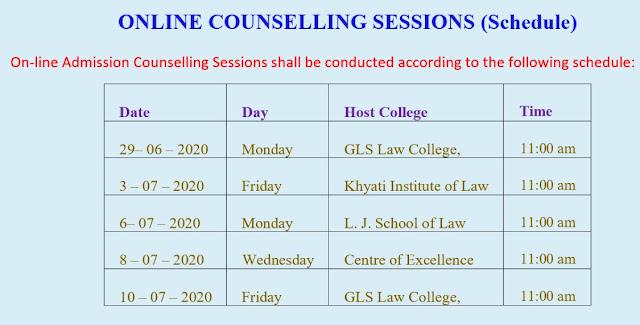 Gujarat University LLB Admission 2020-21 Open Now