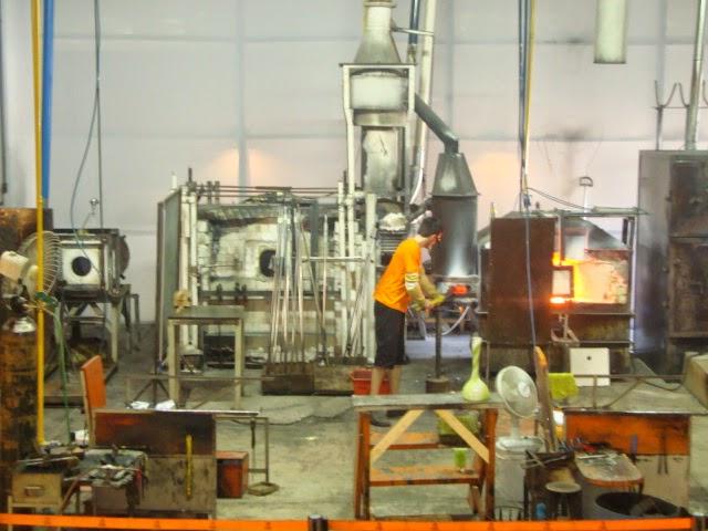 Fábrica da cristal em Gramado
