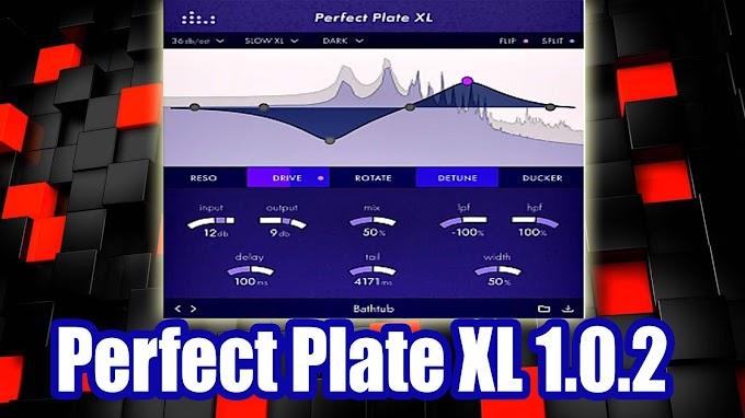 Denise Audio – Perfect Plate XL 1.0.2 (VST, VST3, AU) [mac OS]