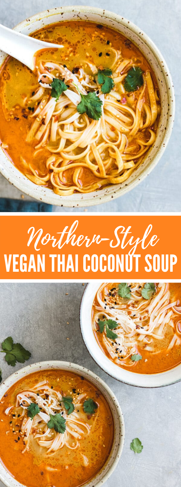 NORTHERN-STYLE VEGAN THAI COCONUT SOUP #vegetarian #lunch
