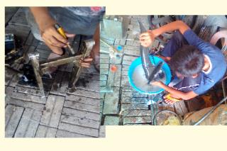 Gambar motor kerja restorasi kriss