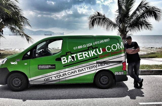 bateri kereta kong, bateriku.com, percuma perkhidmatan bateri kereta kong,