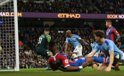 Again, Manchester City fumble at Etihad after Fernandinho's own goal