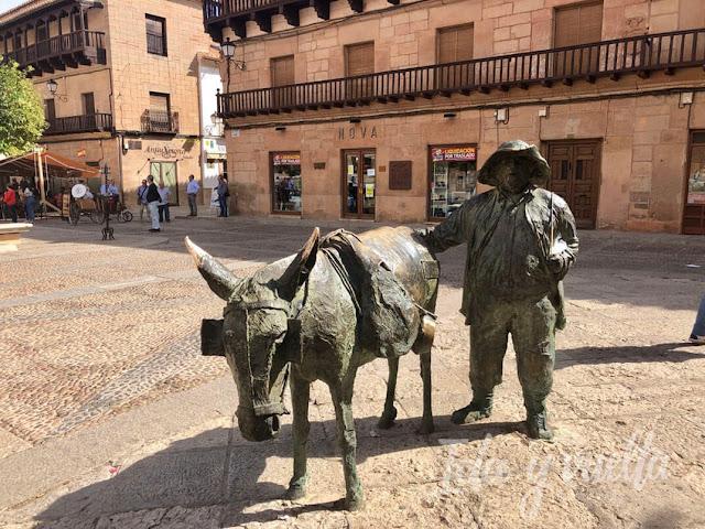 Visitar Villanueva de los Infantes Sancho y Rucio
