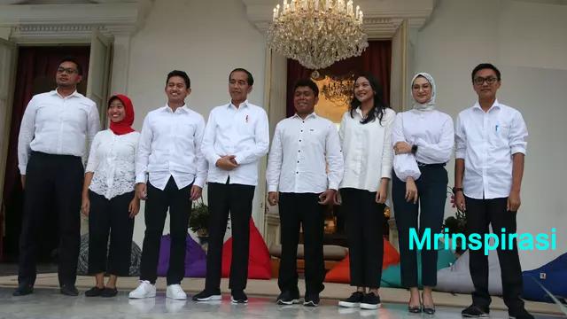 Nama-nama Staf Khusus Presiden Pilihan Jokowi Serta Karya Ciptanya