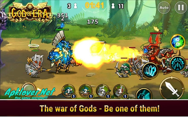 God of Era Heroes War MOD APK