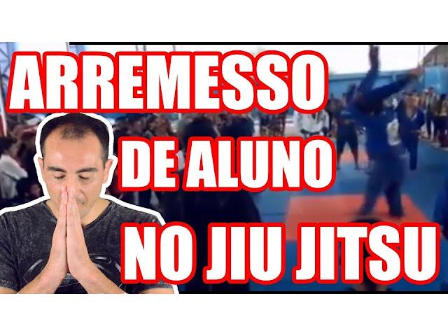 PROFESSOR APLICA QUEDA VIOLENTA EM ALUNO JIU JITSU
