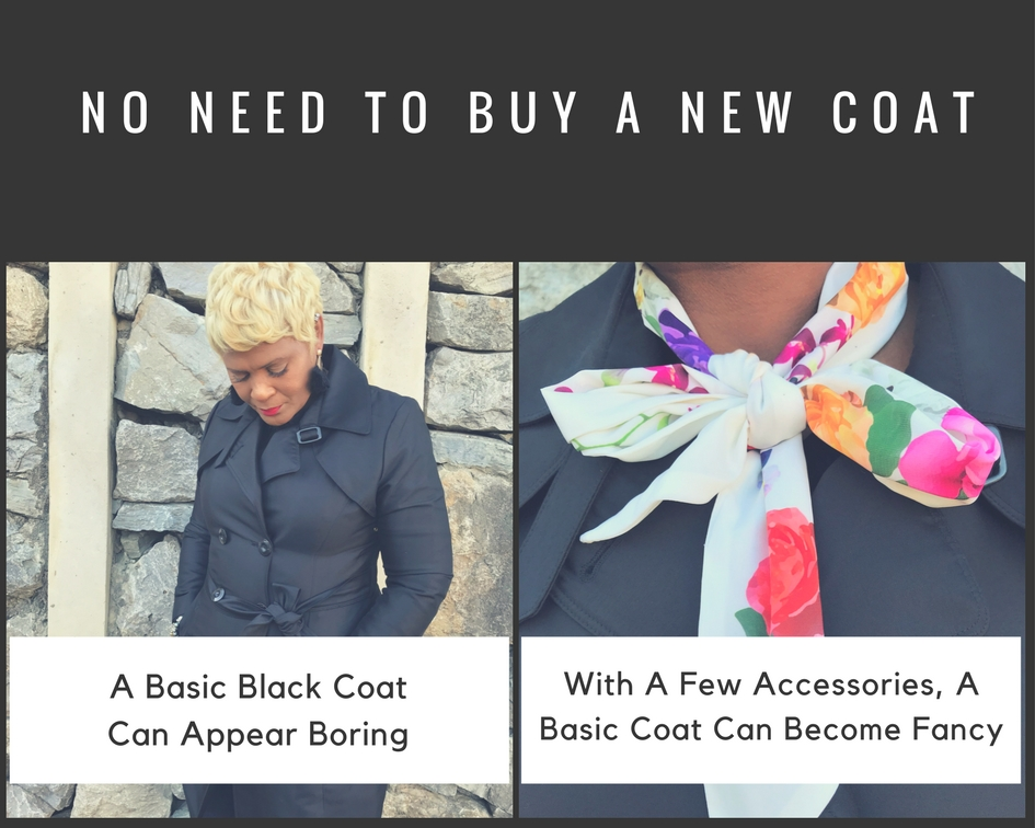 Restyling Your Coat With Handbags, Scarf, Earring and Shades for a fresh new look