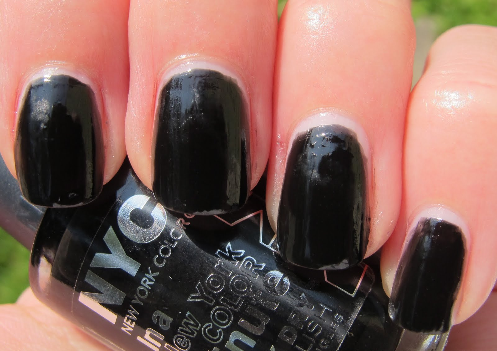 Never Enough Nails: NYC Black Magic Collection Nail Colors for ...