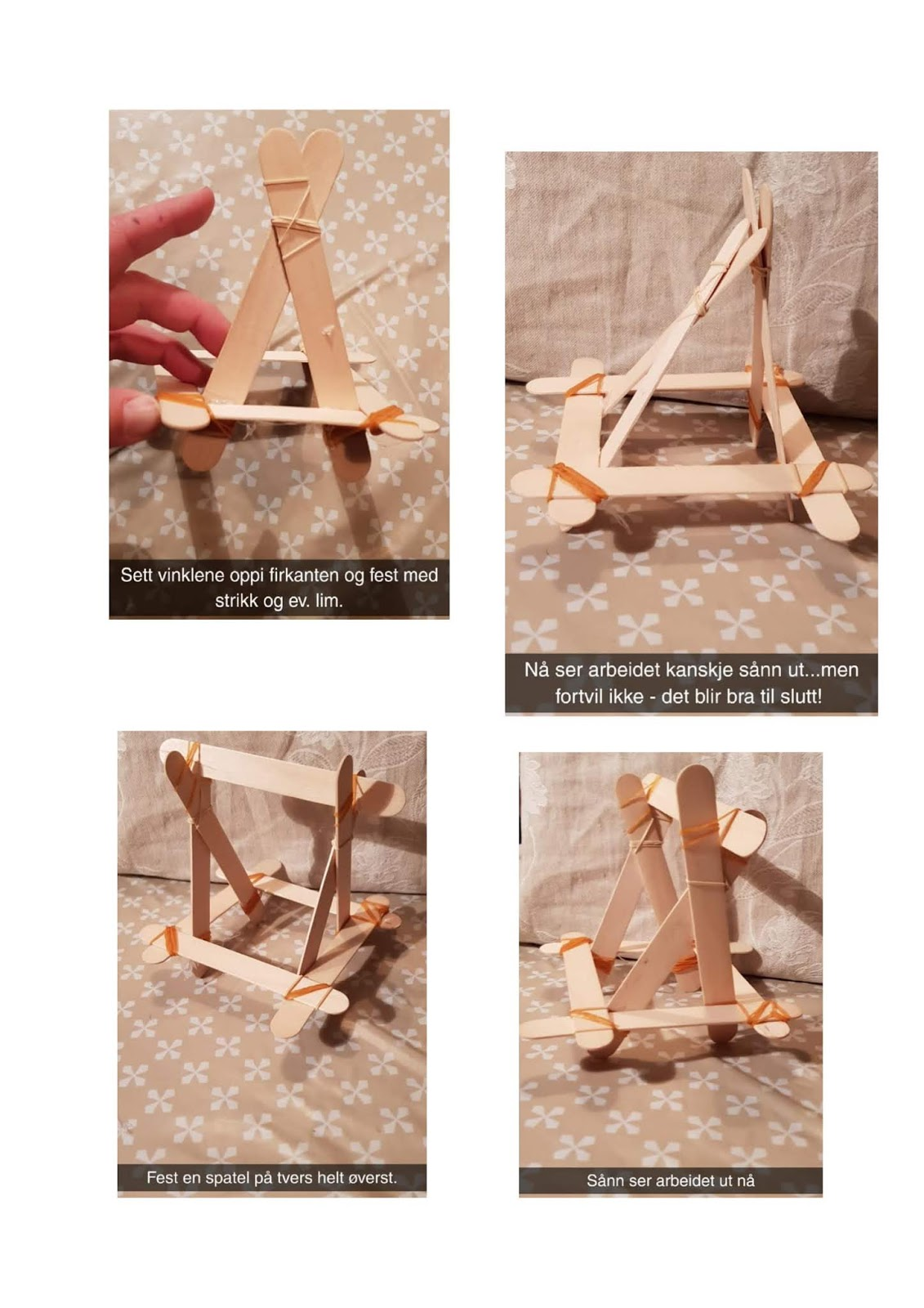 hvordan lage en katapult