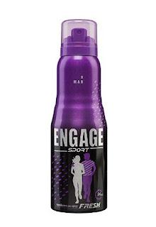 Engage Sport Fresh Deodorant Spray