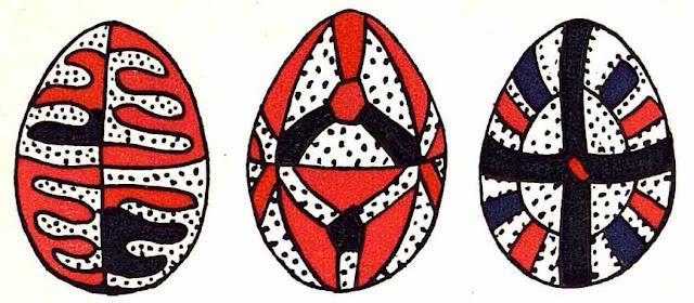 Modele oua vopsite