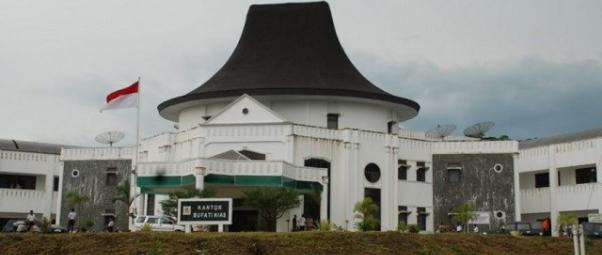 Gedung kantor bupati Kabupaten Nias