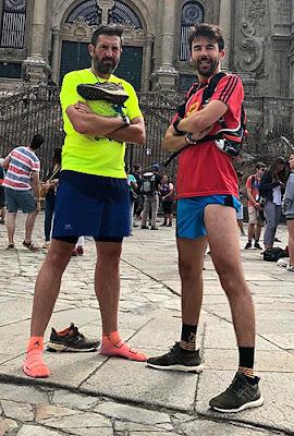 Atletismo Aranjuez Camino de Santiago