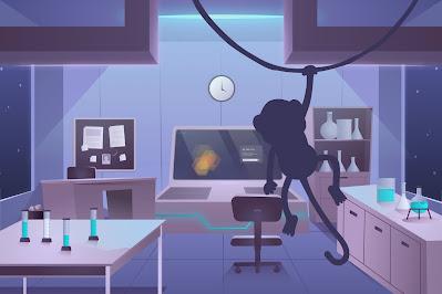Poe's secret UX lab with MeMe causing mischief