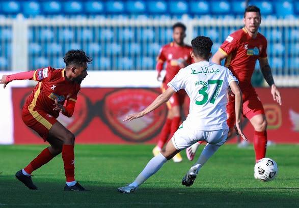 مشاهدة اهداف وملخص مباراة ضمك والأهلي السعودي 4-3 في الدوري السعودي