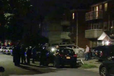 Three babies and two adults stabbed as woman goes on a knife rampage at a nursery in New York