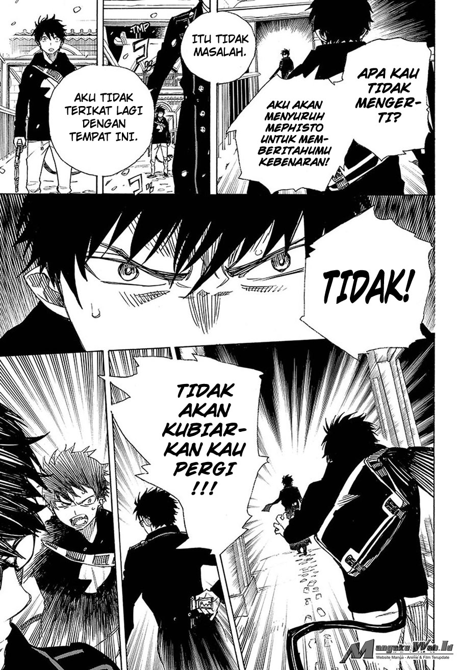 Ao no Exorcist Chapter 96