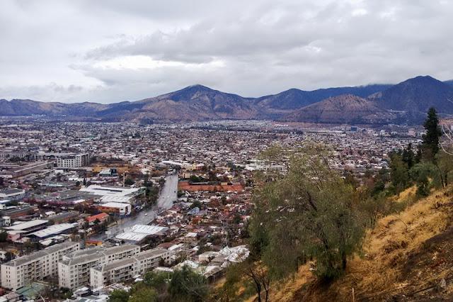 Visitar o Cerro San Cristóbal em Santiago no mês de julho