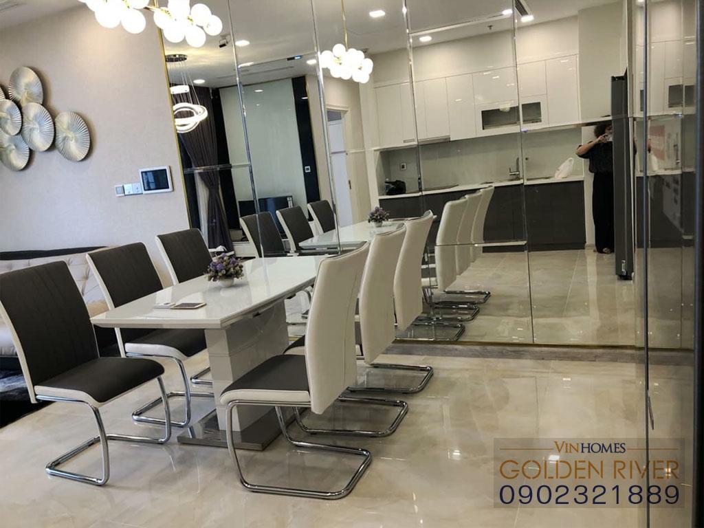 Cho thuê officetel 2 phòng ngủ Vinhomes Golden River Aqua 1 - hình 8