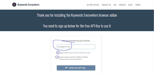 Keywords Everywhere - Keyword Tool