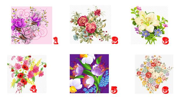 Выберите один из цветков и узнайте что-то интересное о своей личности!