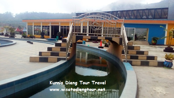 Area Kolam Air Panas Dqiano Water Park