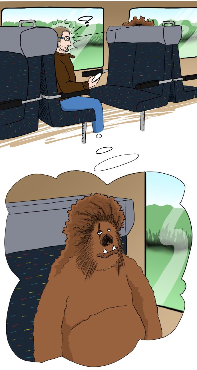 prendre le train sans être bien réveillé
