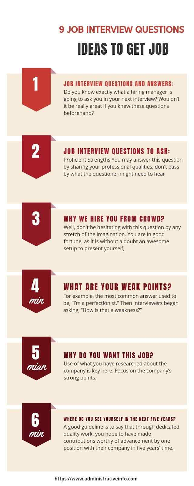 9 Job Interview Question Ideas Which Can Increase Job Hunting Probability