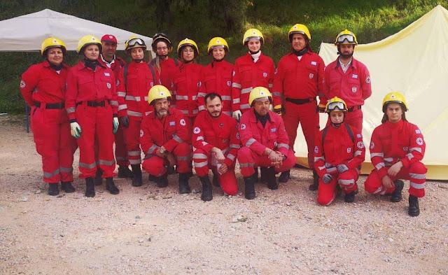 Εθελοντές Σαμαρείτες από Ναύπλιο και Κόρινθο συμμετείχαν στην άσκηση προσομοίωσης στο Άργος
