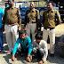दसाई - मुखबिर की सुचना पर पुलिस ने पकडे ट्रैक्टर ट्राली चोर