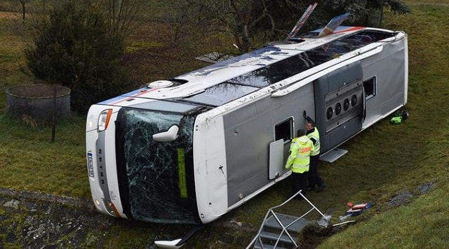 who is liable for a bus accident in california buses crash lawsuit