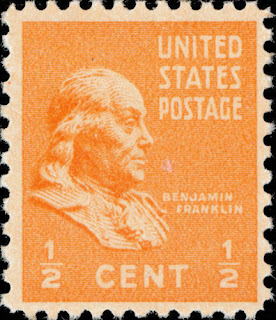 Benjamin Franklin Single Stamp