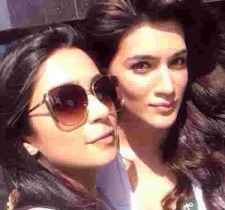 Kriti Sanon With Sonaakshi Raaj
