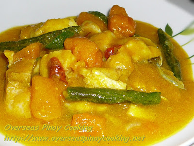 Pinoy Fish Curry