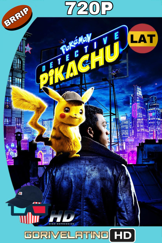 Pokémon: Detective Pikachu (2019) BRRip 720p (Latino-Inglés) MKV