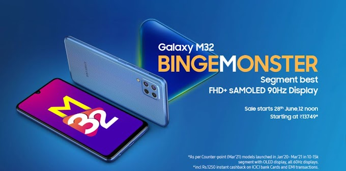 Samsung Galaxy M32 2021 Price, Specifications, Review India