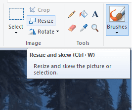 Tools resize