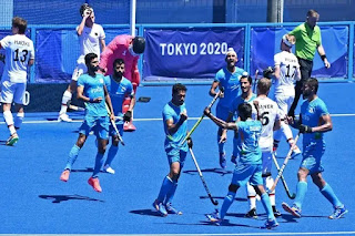 Bronze Medal in Hockey: India beat Germany 5-4 in hockey, got medal in Olympics after 41 years