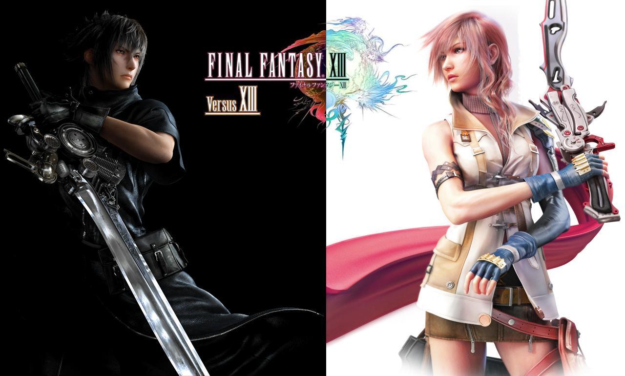 Video Game Gallery Final Fantasy Versus 13 Final Fantasy 13