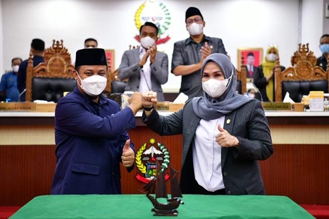 Setujui LKPJ untuk Rakyat Sulsel, Andi Sudirman Sulaiman Apresiasi Semua Fraksi di DPRD .lelemuku.com.jpg