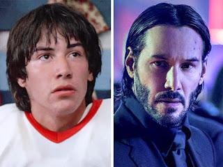 Como esses atores mudaram desde seus primeiros papéis e como estão hoje