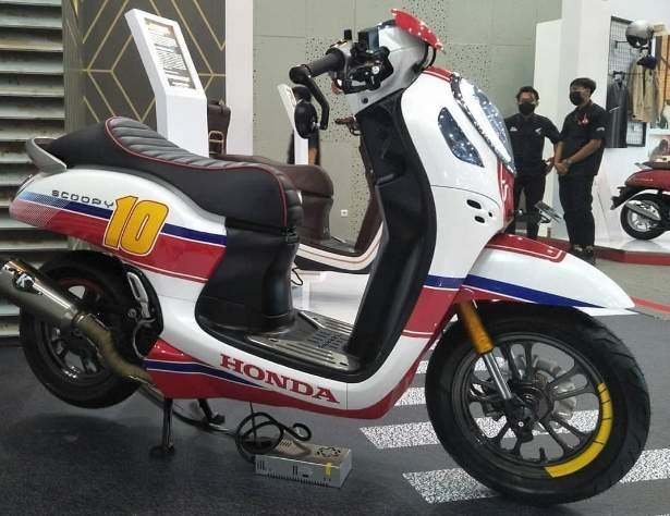 modifikasi all new scoopy cafe racer