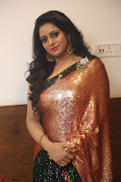 Udaya Bhanu lookssizzling in a Saree Choli at Gautam Nanda music launchi ~ Exclusive Celebrities Galleries 137.JPG