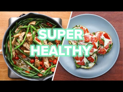 7 Healthy And Low Carb Recipes • Tasty