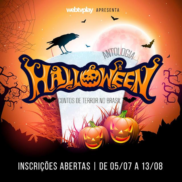 Inscrições Antologia Halloween Contos de Terror no Brasil