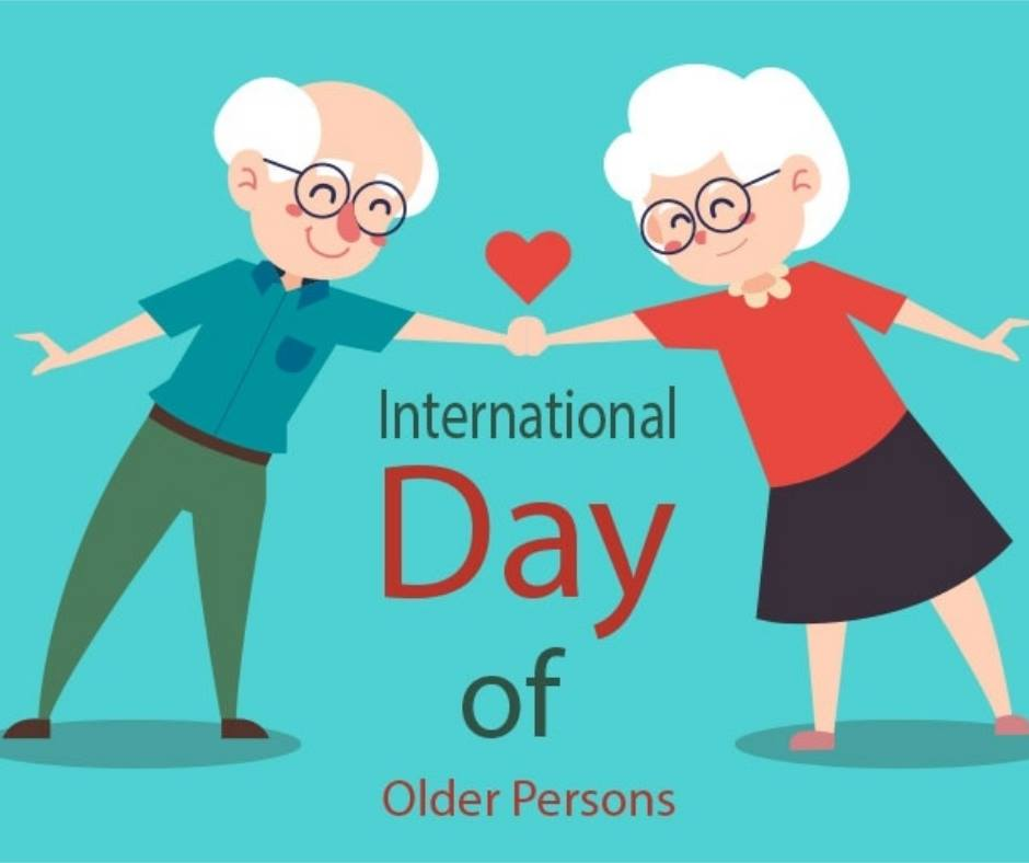International Day of Older Persons Wishes Sweet Images