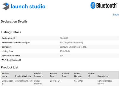 Samsung Galaxy Book S Dengan OS Windows 10 Kini Telah Lolos Sertifikasi